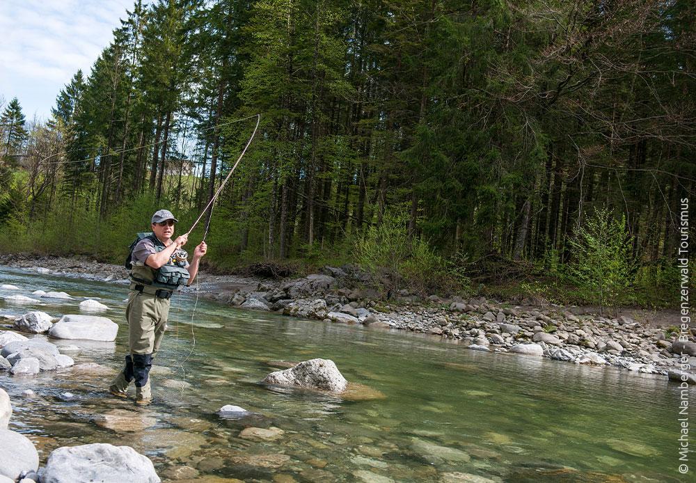 Fliegenfischen im Bregenzerwald