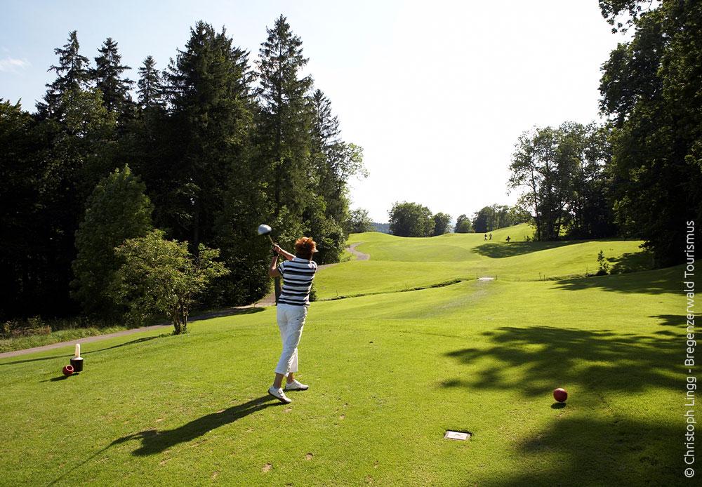 Golfen im Bregenzerwald