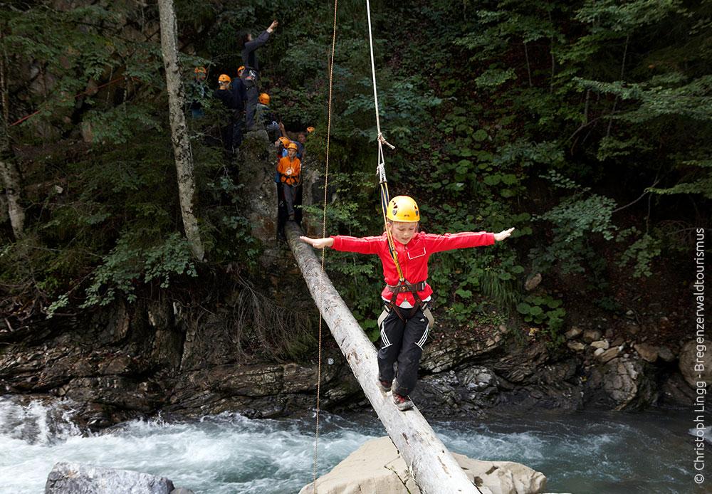 Abenteuer für Kinder im Bregenzerwald