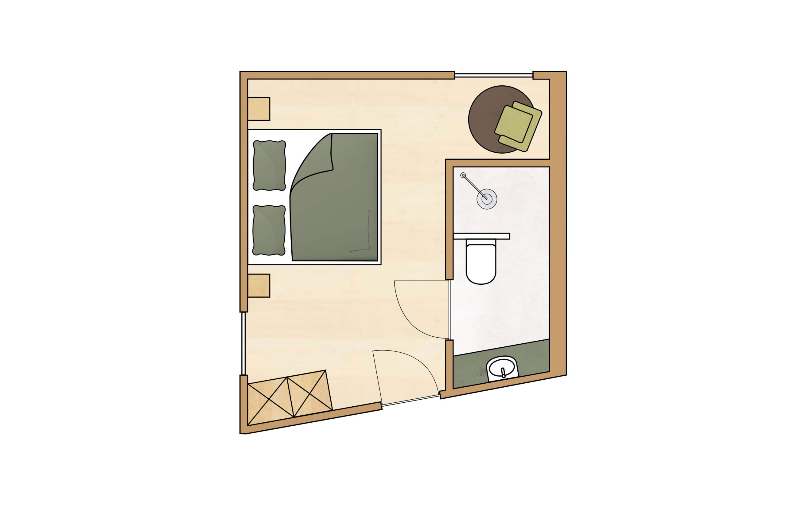 Zimmer für 2 Personen