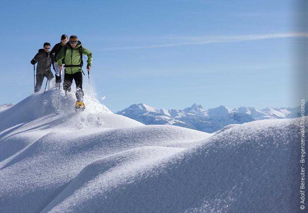 Schneeschuhtour im Bregenzerwald