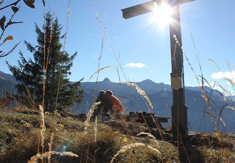 Ausflug mit der Familie im Bregenzerwald