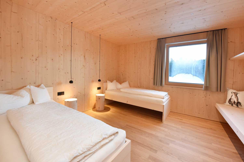 Ferienwohnung Nahtur Einzelbetten