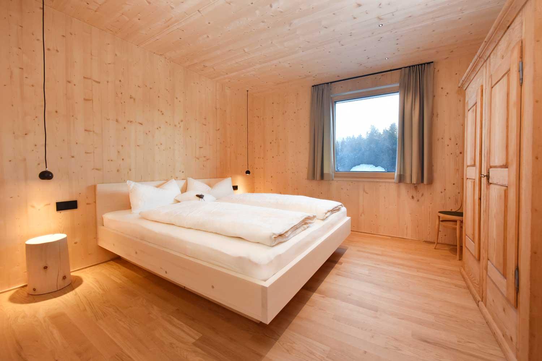 Ferienwohnung Nahtur Schlafzimmer